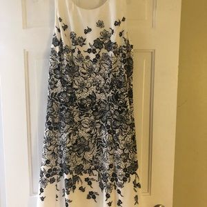 Chico's size 1 flared Dress